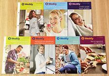 Weight Watchers mein WW Weekly 12.9 - 31.10 SmartPoints 2020 Wochenbroschüre Set