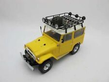 1:18 Toyota Land Cruiser FJ40 1977 Die Cast Model Yellow Rare