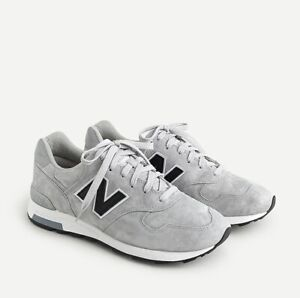 $180 New Balance x J.Crew 1400 USA Raw Steel grey Sz 10 !! Kith jjjjound 992 998