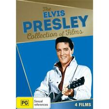 Elvis Presley - Collection Of Films (DVD, 2016, 4 Discs) Brand New & Sealed R4