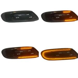 Mini F56 LED Indicators Smoked Dynamic Side Repeaters Cooper S, JCW