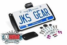 Jeep Wrangler JK 2007-2015 License Plate Relocation Kit w/Light JKS #8210
