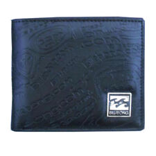 New with Box Billabong Men's Surf Synthetic Leather Black Wallet Xmas Gift #26