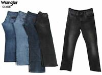 Vintage Wrangler Clyde Mens Regular Fit Straight Jeans 26W to 44W
