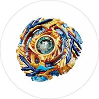 Beyblade Burst 7 Inch Edible Image Cake & Cupcake Toppers (6)
