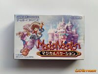 MAGICAL VACATION GBA Nintendo Game Boy Advance JAPAN