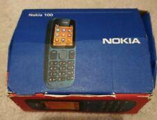 Nokia 100-Fantasma Nero (Sbloccato)