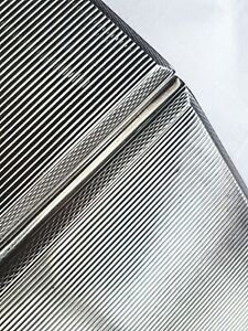 Beautiful Australian sterling Silver Cigarette Case 4.3oz