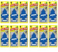 12 x Magic Tree Little Tree New Car Scent Fragrance Car Van Air Freshener Packs