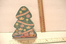 ~HERSHEYS CARDBOARD CHRISTMAS TREE BOX~HOLIDAY COLLECTIBLES #1 1996~