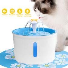 2.6L Cat Water Fountain Automatic Dog Pet Drinking Dispenser Set Super Silent