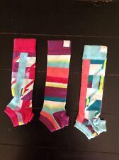 Littlemissmatched Arm Warmers Multi Colored Fingerless Gloves Sleeves~Girls