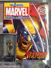 Eaglemoss Classic Marvel Comics Figurine Wolverine Issue 2! See Pics!