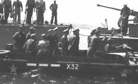 7x5 Photo ww8B0 Normandy D-Day Omaha Beach Visite Officiers Generaux 1944
