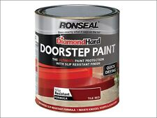 Ronseal-diamond dur porte peinture tuile rouge 750ml