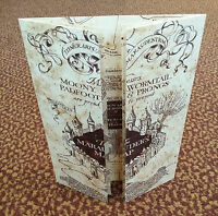 The Marauder's Map Hogwarts School of Witchcraft & Wizardry - Harry Potter, NEW!