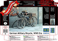 Master Box 35165 WWII German Military Bicycle (with Photo-Etched Parts) kit 1/35
