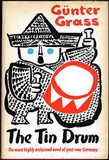 The Tin Drum by Gunter Grass - Nobel Laureate FIRST AMERICAN EDITION 1962 DJ
