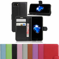 Leather Wallet Magnetic Flip Stand Case Cover For Apple iPhone 6s Black pink Red