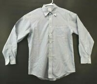 Brooks Brothers 346 Mens Sz 15.5-4/5 Medium Long Sleeve Button Down Dress Shirt