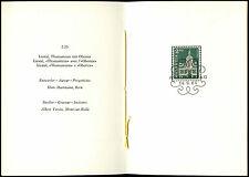 Switzerland 1964, 2f20 Definitives, FDI PTT Folder #C36837