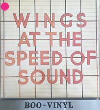 Wings - At The Speed Of Sound (Vinyl LP, 1976) PAS 10010 Ex+ Superb Con
