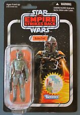 Vintage Star Wars Empire Strikes Back Boba Fett Kenner Figurine Card 1980 - 1982
