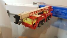 SIKU AUTOKRAN MAX GOLL CRANE TRUCK RED  1:55 SCALE - 3730