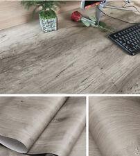 "Wood Grain Contact Paper Roll Self Adhesive Wallpaper Shelf Liner (24x 78.7"")"