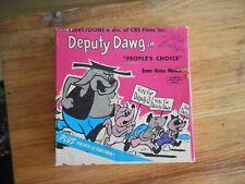 """Vintage Deputy Dog """" People's Choice """" 8mm Ken Films Tested"""
