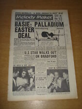 MELODY MAKER 1960 FEBRUARY 6 COUNT BASIE GENE VINCENT CLIFF RICHARD MURRAY +