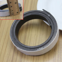 1M Rubber Self Adhesive Magnetic Stripe Flexible Magnet DIY Craft Tape 10 x1mm