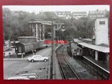 PHOTO  DOVER PRIORY RAILWAY STATION 11/5/90 LAST 11:23 TO LONDON BRIDGE