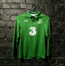 Keane Republic of Ireland  Home Long sleeve T-shirt 2011 - 2012 Umbro size YL