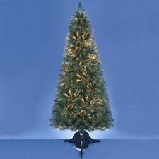 neuf 120cm fibre optique Cristal Pointe sapin de Noël Multicolore Effets