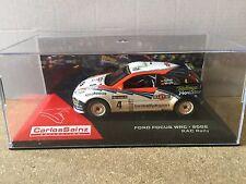 """DIE CAST """" FORD FOCUS WRC - 2002 RAC RALLY """" CARLOS SAINZ 1/43"""