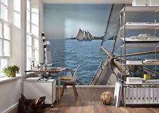 Papel Pintado Mural Fotografía pared Navegación - Vacaciones en el mar azul