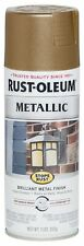 7274830 Stops Rust Metallic Spray Paint, 11 Oz , Laton Antiguo