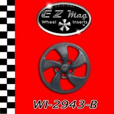 WI-2943-B Elliptical-Style Wheel EZ Mag Wheel Inserts Fits H&R Chassis Slot Cars