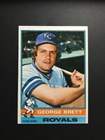 1976 Topps George Brett Kansas City Royals #19 Baseball Card - VG/EX Condition