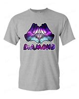 Diamond Galaxy Cartoon Hands T-Shirt Illuminati Cool Graphic Novelty Shirts