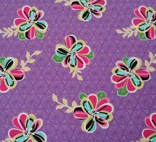 Splendid Rhapsody by Marie Osmond for QT BTY Bright Floral on Purple