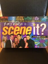 Scene It FRIENDS EDITION DVD BOARD GAME Clips Trivia From 10 Seasons COMPLETE