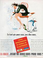 Publicité 1998  LA HALLE  aux chaussures  aux vetements  pret à porter mode