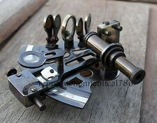 SET OF 10 Vintage Antique Nautical Brass Sextant Maritime Collectible Marine G