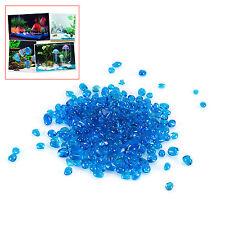 Mini Glass Nugget Pebbles Aquarium Fish Tank 1kg Gravel Substrate 5mm Decor Sand