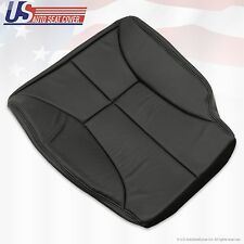 2000 2001 2002 Dodge Ram 3500 Driver side Bottom Leatherett Seat Cover dark gray
