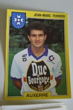 PANINI VIGNETTE STICKER FOOTBALL FOOT 92 N°16 AUXERRE JEAN MARC FERRERI