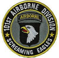 "EAGLE DUSTOFF 101st Airborne Air Assault 50th MEDEVAC 4/"" pocket patch"