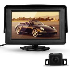4.3 pulgadas TFT LCD Monitor + Camara Vision nocturna Coche Marcha atras R3F5